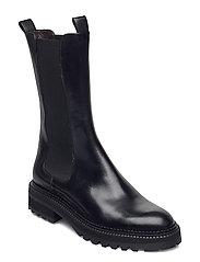 Boots 4808 - BLACK CALF 80