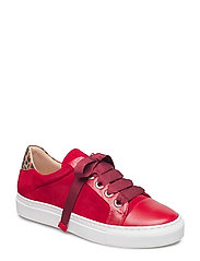 SHOES - RED TEQUILA/RED SUEDE/LEO 559
