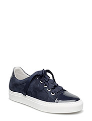 SHOES - NAVY PATENT/SUEDE 251