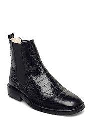 Boots 4840 - BLACK LUISIANA CROCO 10