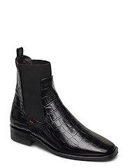 Boots 4900 - BLACK CROCO 10