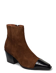 Boots 4932 - BL.POLIDO/LT.BROWN 976 SUE.955