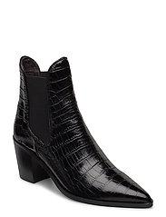 Boots 4942 - BLACK LUISIANA CROCO 10