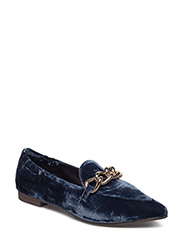 SHOES - INDIGO BLUE VELVET 912