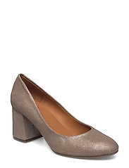 PUMPS - PLATINUM UMBER METAL 02