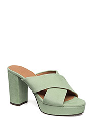 SANDALS - MINT APPLE SUEDE 555