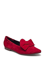 SHOES - RED SUEDE 059
