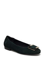 SHOES - DARK GREEN PICASSO SUEDE 555