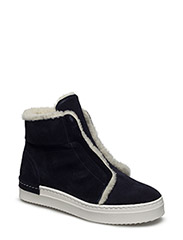 SHOES - NAVY SUEDE/WHITE SOLE 513