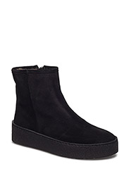 BOOTS - BLACK SUE/SILVER/BL SOLE 503