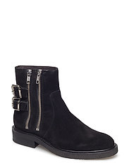 BOOTS - BLACK SUEDE 503