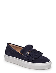 SHOES - NAVY 104 SUEDE/GOLD 512