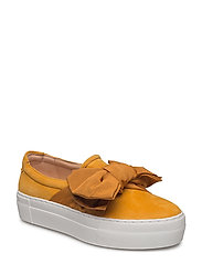 SHOES - SUNFLOWER SUEDE/SUN SATIN 596