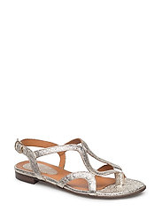 SANDALS - PLATINUM 060 FERRER METAL 02