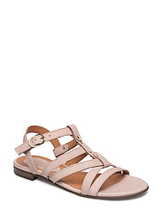 SANDALS - NUDE HUST NUBUCK/METAL GOLD 58