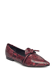 SHOES - RED 841 SNAKE/BL.CALF 39