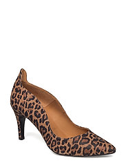 PUMPS - LEOPARDO SUEDE 540
