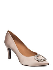 PUMPS - PEARL 16 SATIN 92