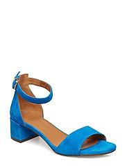 SANDALS - BLUE MEDITERRANEO SUEDE 511