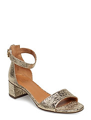 SANDALS - GOLD 83 FERRER METAL 2