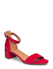 SANDALS - RED SUEDE 59