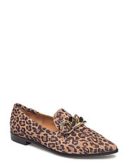 SHOES - LEOPARDO SUEDE/GOLD  545 R