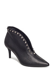 PUMPS - BLACK BUFFALO/SILVER 803