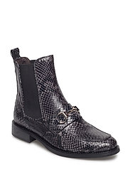 BOOTS - GREY 843 SNAKE/SILVER X 33