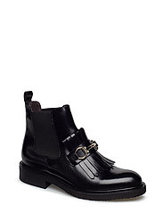 BOOTS - BLACK POLIDO/GOLD 302