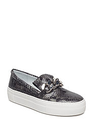 SHOES - GREY 813 SNAKE/SILVER 33