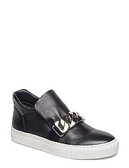 SHOES - BLACK CALF/SILVER 60