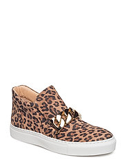 SHOES - LEOPARDO SUEDE/GOLD  545