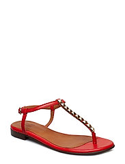 SHOES 8623 - RED LIPSTICK NAPPA/ GOLD 772
