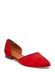 SHOES 8660 - SUMMER RED 1577 SUEDE 57