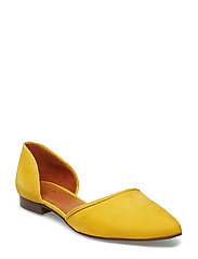 SHOES 8660 - YELLOW 1795 SUEDE 55