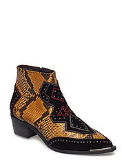 BOOTS - YELLOW 807 SNAKE/BL.SUE 530 X