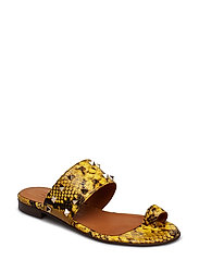 Sandals 8702 - YELLOW SNAKE/GOLD 352