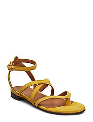 SANDALS 8706 - YELLOW 1795 SUEDE 55
