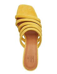 Billi Bi - SANDALS 8723 - heeled sandals - yellow 1795 suede 55 - 3