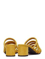 Billi Bi - SANDALS 8723 - heeled sandals - yellow 1795 suede 55 - 4