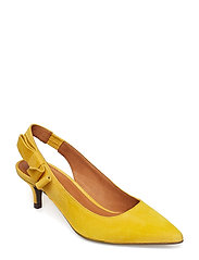 SANDALS 8760 - YELLOW 1795 SUEDE 55