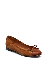 SHOES 8810 - COGNAC/COGNAC SUEDE 756