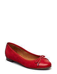 SHOES 8810 - RED NAPPA/RED SUEDE 759