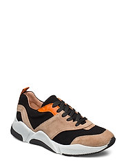 Sport 8840 - BEIGE/BLACK/ORANGE SUEDE 572