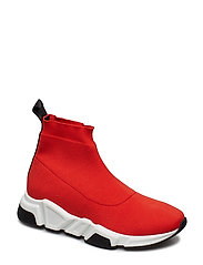SHOES - RED ELASTIC/BL.NAPPA 999