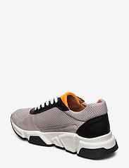 Billi Bi - Sport 14261 - chunky sneakers - taupe/white/orange 137 - 2