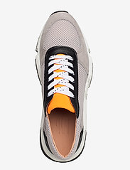 Billi Bi - Sport 14261 - chunky sneakers - taupe/white/orange 137 - 3