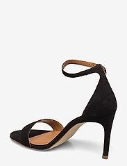 Billi Bi - 14451 Sandals - høyhælte sandaler - black suede 50 - 2