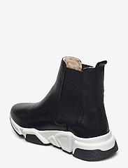 Billi Bi - Warm lining 14866 - flat ankle boots - black calf 80 - 2