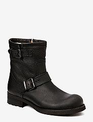 Billi Bi - BOOTS - WARM LINING - flache stiefeletten - black tomcat 80 - 0